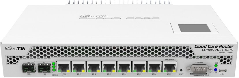 Mikrotik CCR1009-7G-1C-1S+PC Cloud Core Router