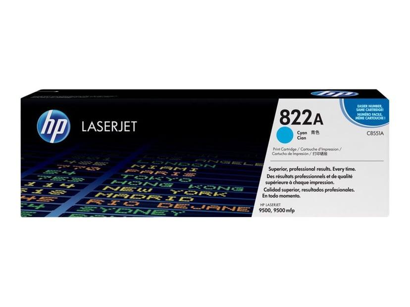 HP Värikasetti Syaani - C8551A
