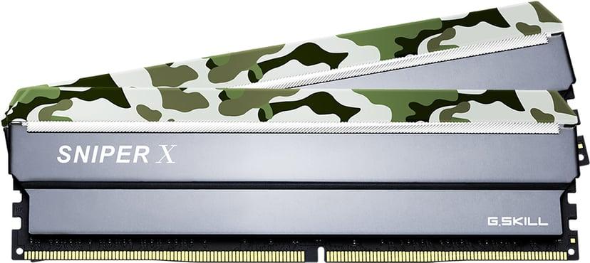 G.Skill Sniper X 16GB 3,200MHz DDR4 SDRAM DIMM 288-pin
