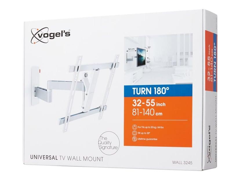 """Vogel´s Wall 3245 Vægbeslag Drejeligt 180 32-55"""" Hvid"""