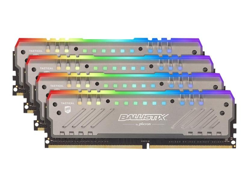 Crucial Ballistix Tactical Tracer RGB 64GB 2,666MHz DDR4 SDRAM DIMM 288-pin
