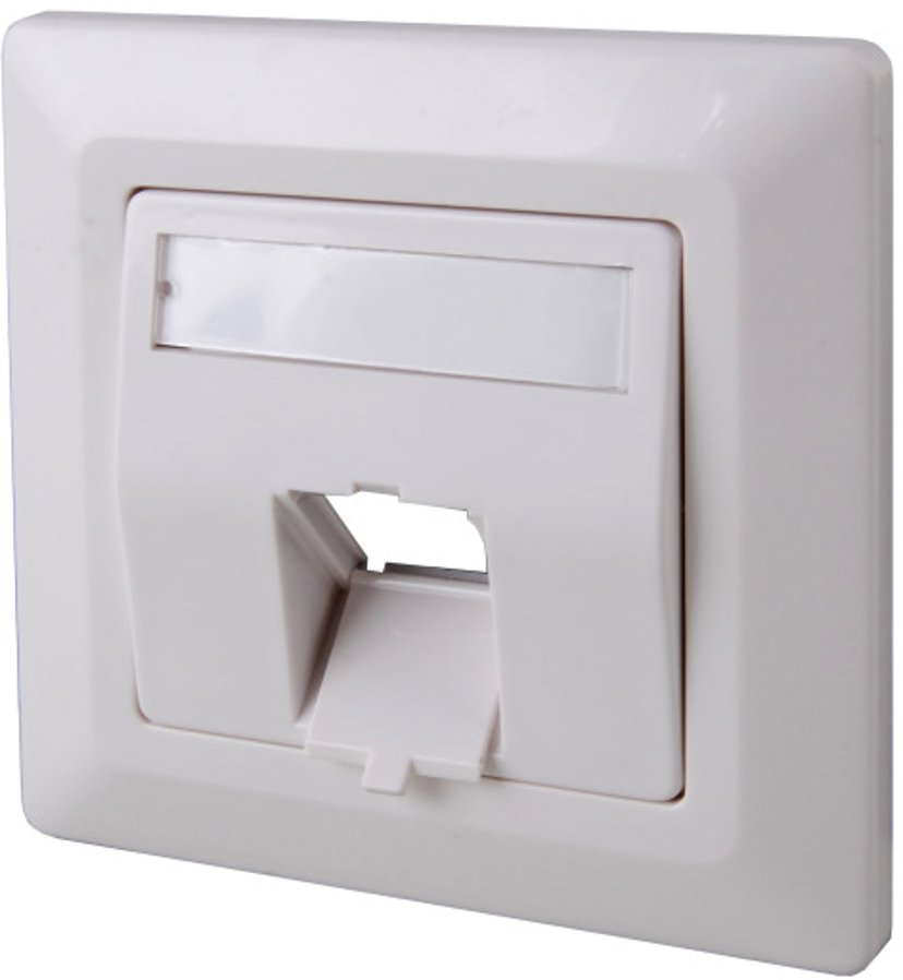 Direktronik Direktronik Wall Socket 1Xrj45 Keystone