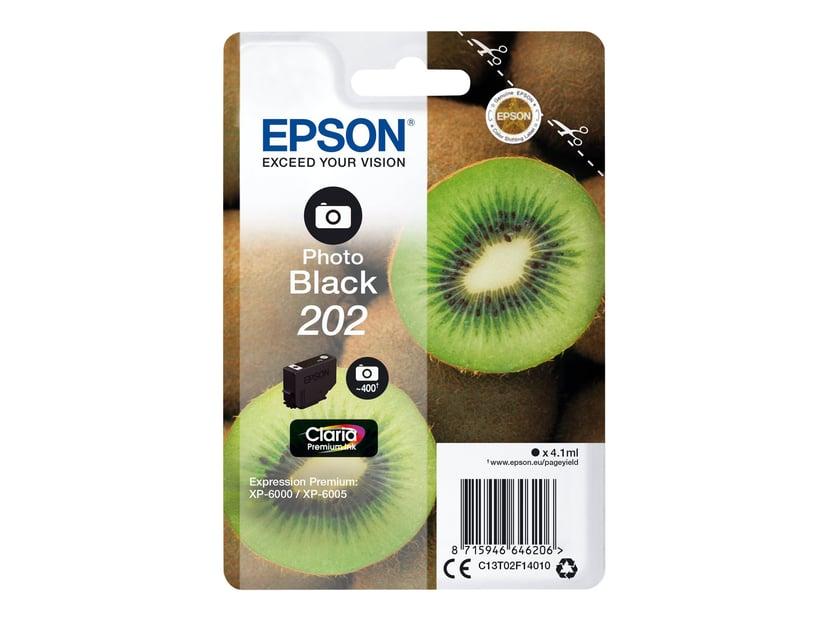 Epson Blekk Foto Svart 4.1ml 202 - XP-6000/XP-6005