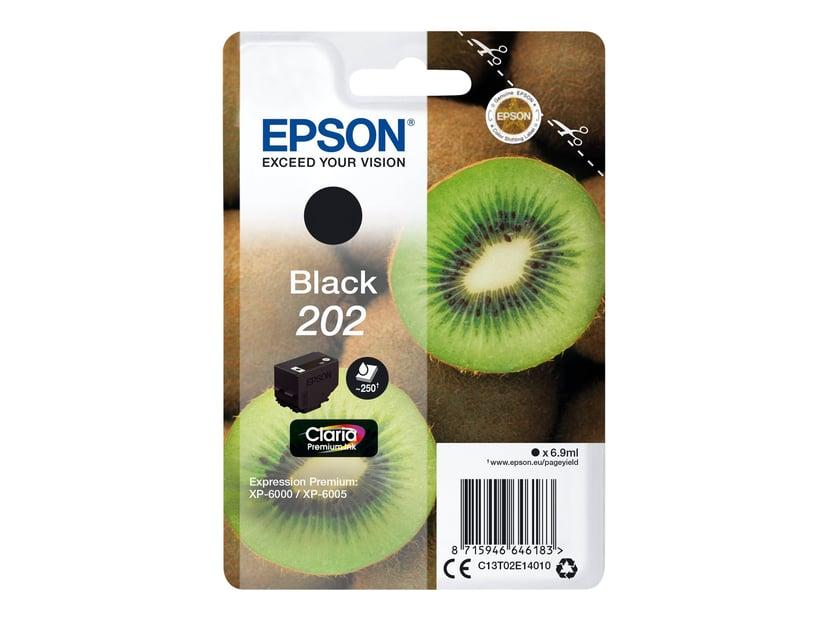 Epson Inkt Zwart 6.9ml 202 - XP-6000/XP-6005