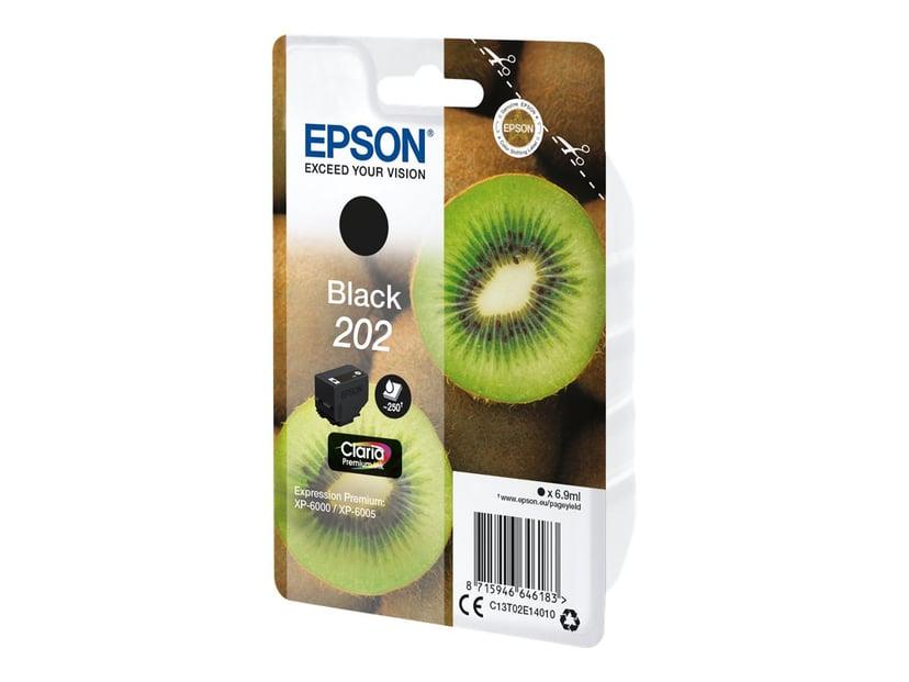 Epson Bläck Svart 6.9ml 202 - XP-6000/XP-6005