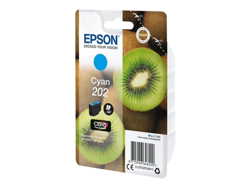 Epson Inkt Cyaan 4.1ml 202 - XP-6000/XP-6005