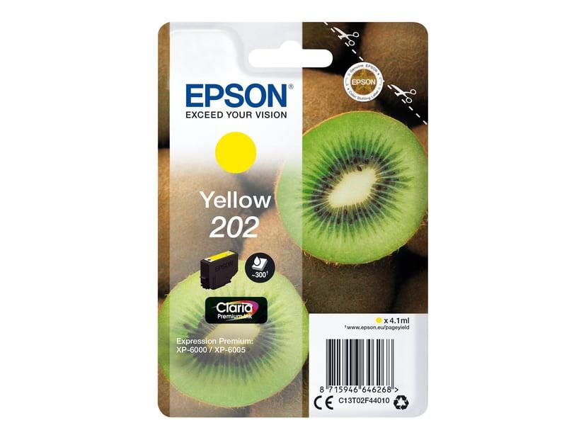 Epson Inkt Geel 4.1ml 202 - XP-6000/XP-6005