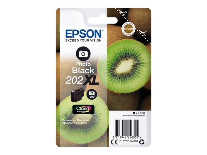 Epson Blekk Foto Svart 7.9ml 202XL - XP-6000/XP-6005