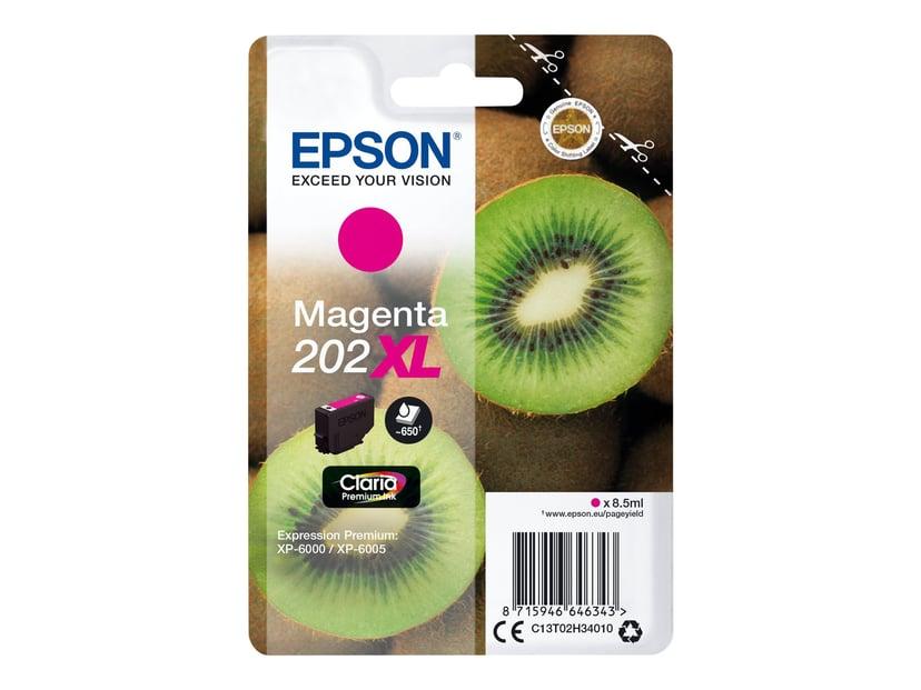 Epson Blekk Magenta 8.5ml 202XL - XP-6000/XP-6005