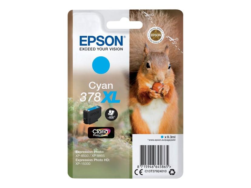 Epson Blekk Cyan 9.3ml 378XL - XP-15000/XP-8500/XP-8505