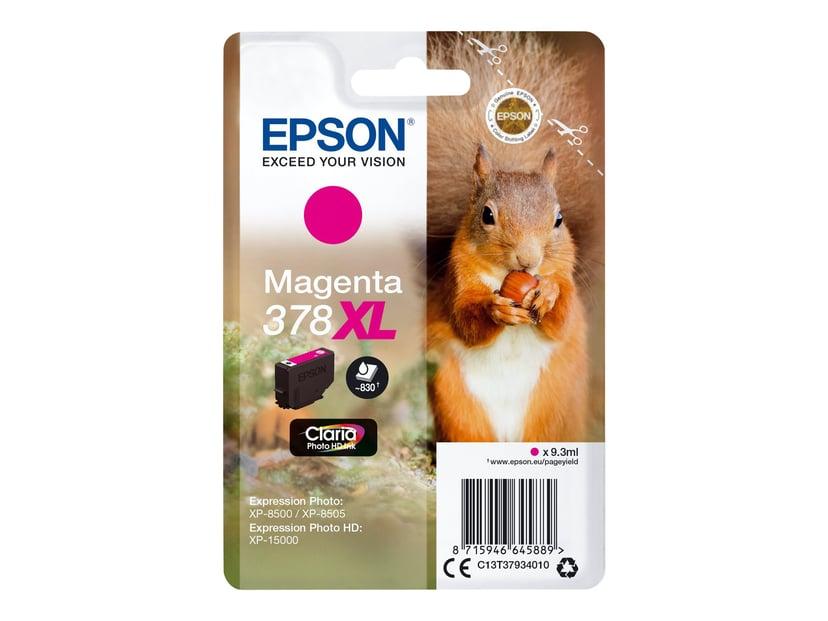 Epson Blekk Magenta 9.3ml 378XL - XP-15000/XP-8500/XP-8505