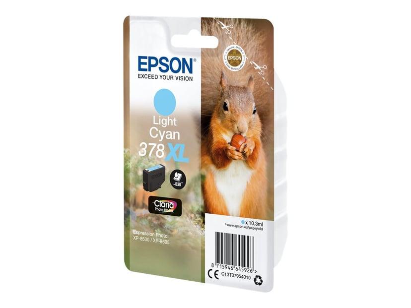 Epson Inkt Ljus Cyaan 10.3ml 378XL - XP-15000/XP-8500/XP-8505