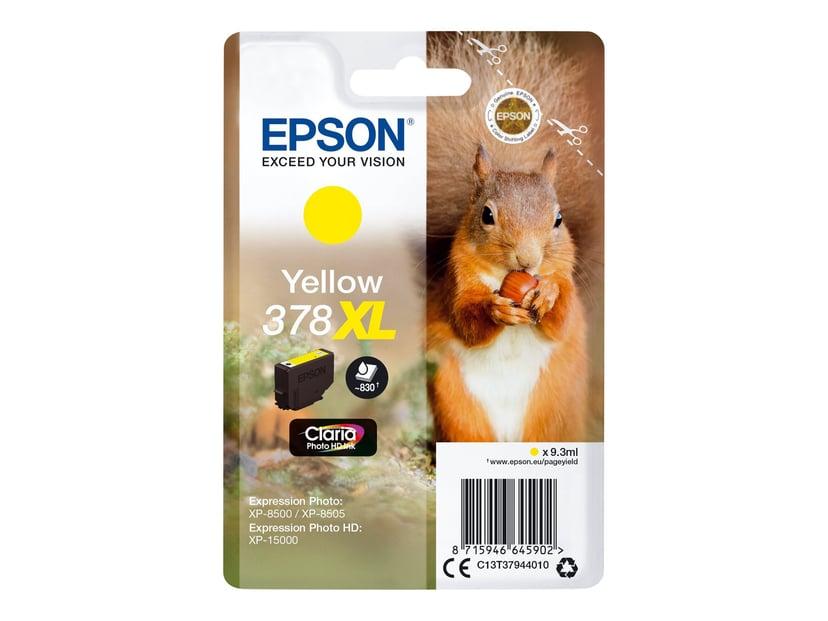 Epson Bläck Gul 9.3ml 378XL - XP-15000/XP-8500/XP-8505