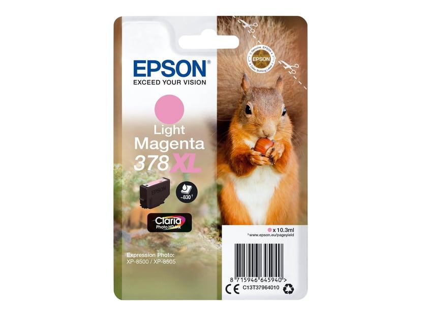 Epson Blekk Ljus Magenta 10.3ml 378XL - XP-15000/XP-8500/XP-8505