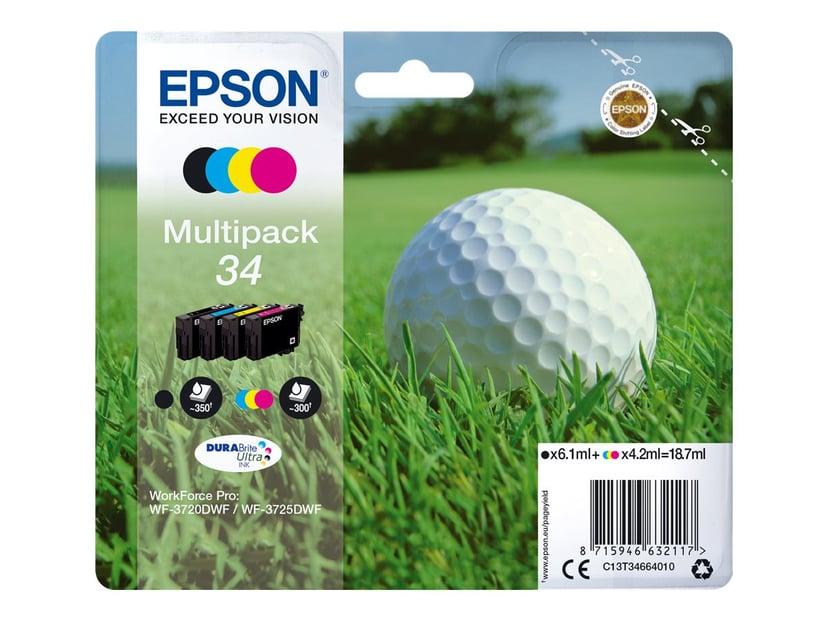 Epson Blæk Multipak (BK/C/M/Y) 34