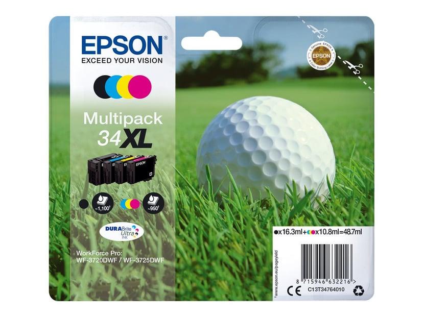 Epson Blekk Multipack (BK/C/M/Y) 34XL