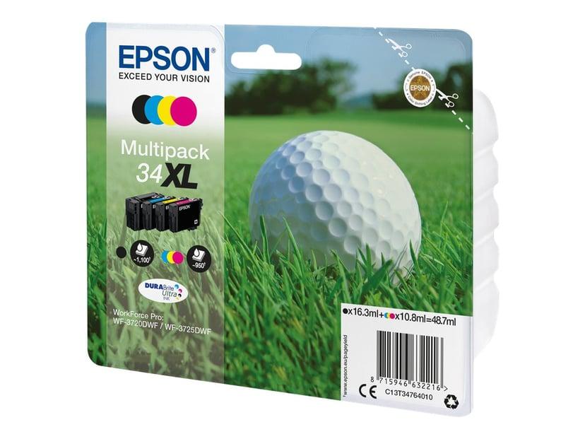 Epson Bläck Multipack (BK/C/M/Y) 34XL