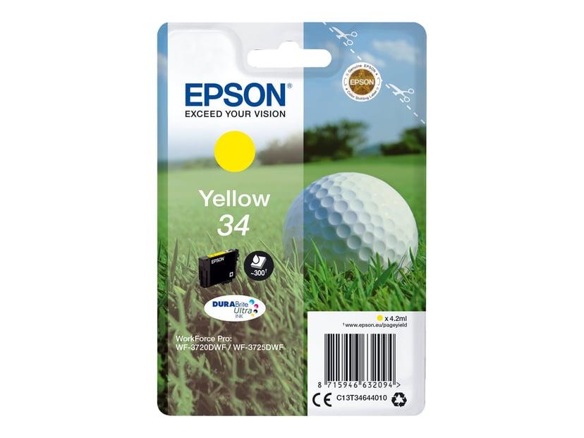 Epson Bläck Gul 4.2ml 34 - WF-3720