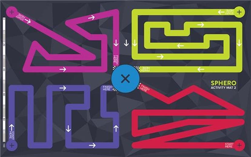Sphero Aktivitetsmatte Matta 2 - Maze Matta