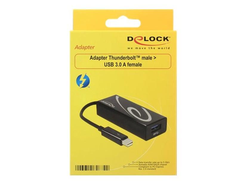 Delock Adapter Svart