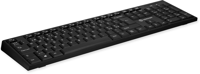 Voxicon Slim 200W Tastatur Trådløs Nordisk Svart