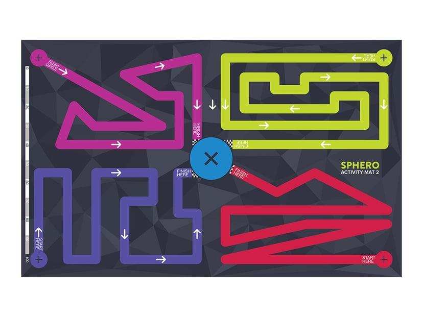 Sphero Aktivitetsmatta Matta 2 - Maze Matta