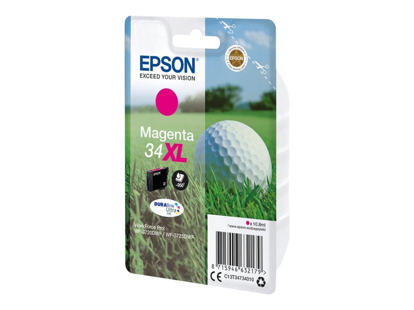 Epson Bläck Magenta 10.8ml 34XL - WF-3720