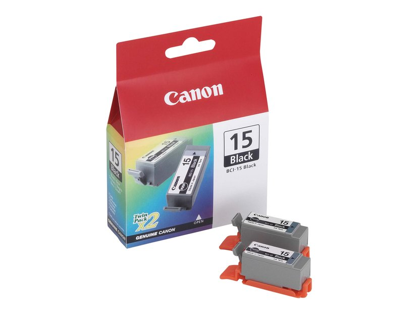 Canon Muste Musta BCI-15BK - I70/I80 2 PCS
