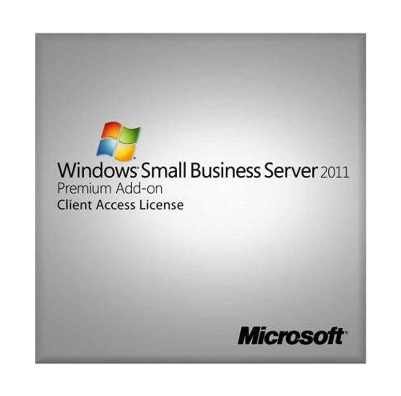 Microsoft Windows Small Business Server 2011 Premium Add-on 5 User CAL Suite