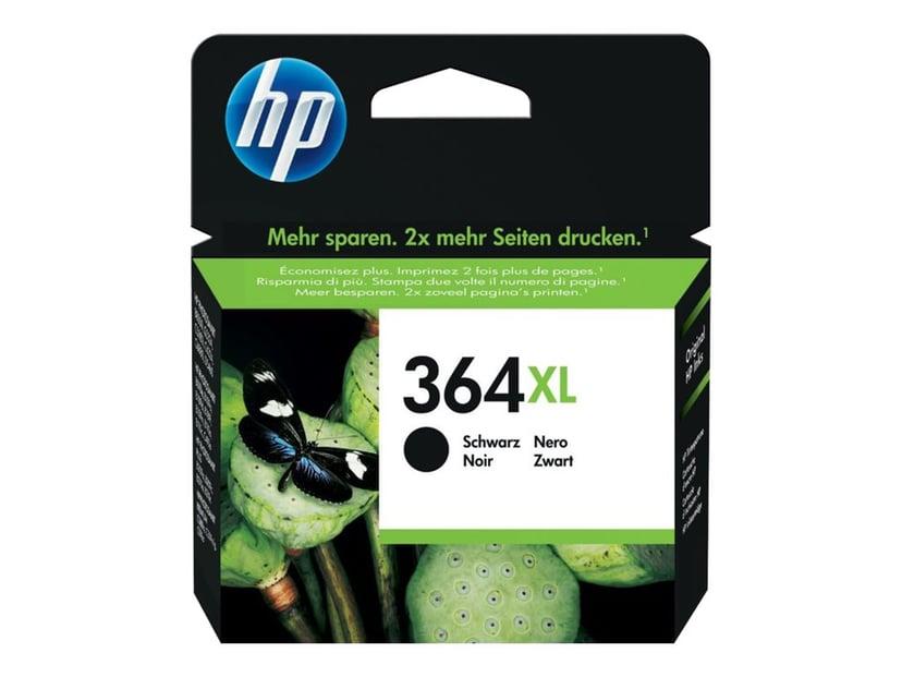 HP Blæk Sort 364XL, 550 SIDOR