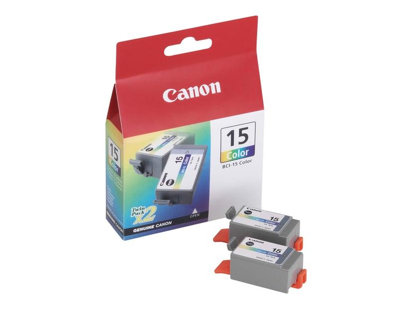 Canon Blæk Farve BCI-15CL I70/I80 2 PCS