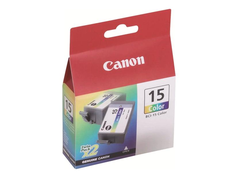 Canon Blekk Farge BCI-15CL I70/I80 2 PCS
