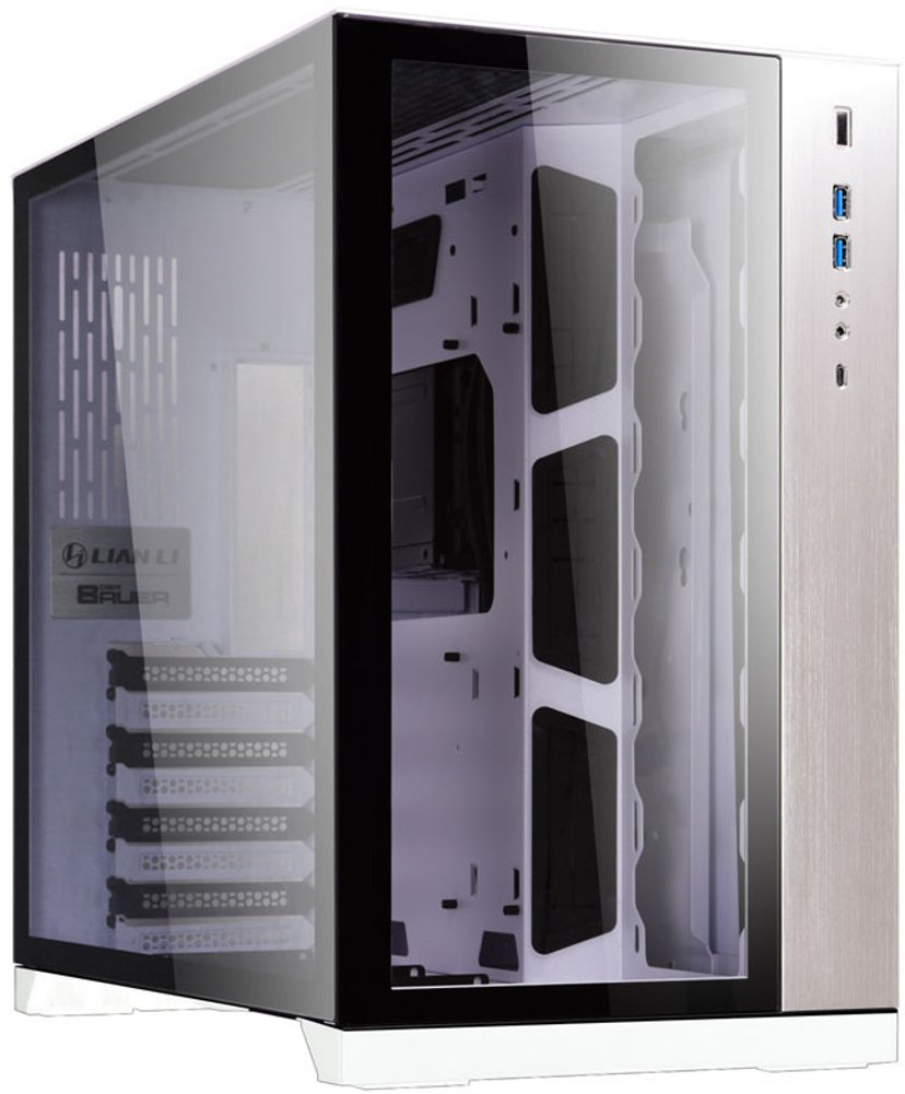Lian-Li PC-O11 Dynamic Hvit, Svart