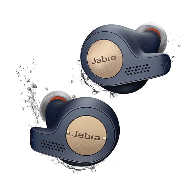 Jabra Elite Active 65t Blauw, Goud