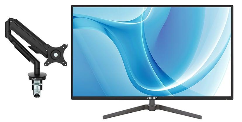 """Voxicon G32QHD IPS med heve- og senkbar gassarm 31.5"""" 2560 x 1440 16:9"""