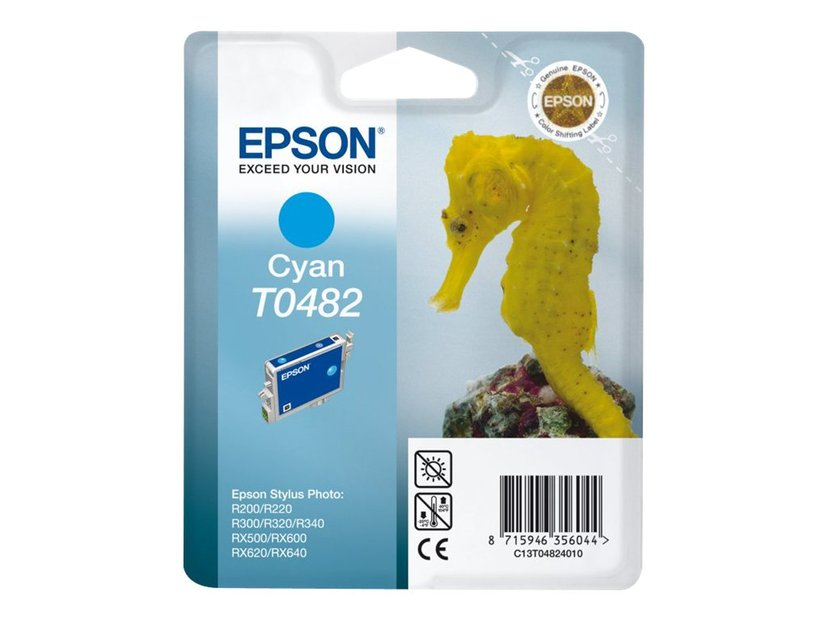Epson Blekk Cyan STYLUS Foto R300/RX300/500/600