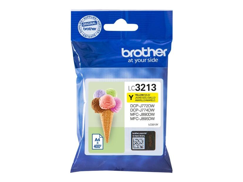 Brother Bläck Gul LC-3213Y - DCP-J772DW/DCP-J774DW