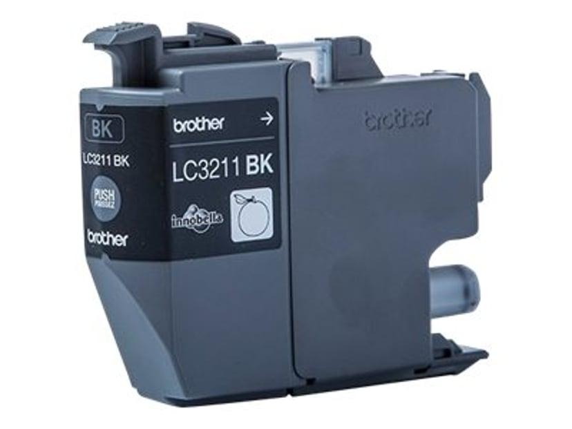 Brother Bläck Svart LC3-211BK - DCP-J772DW/DCP-J774DW