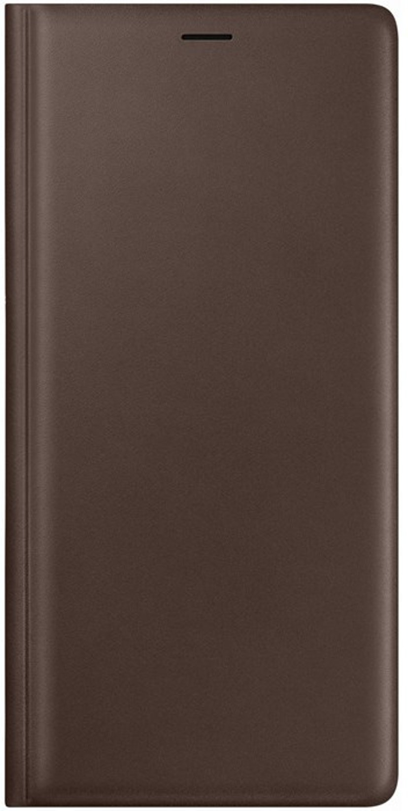 Samsung Leather Wallet Cover EF-WN960 Samsung Galaxy Note 9 Brun