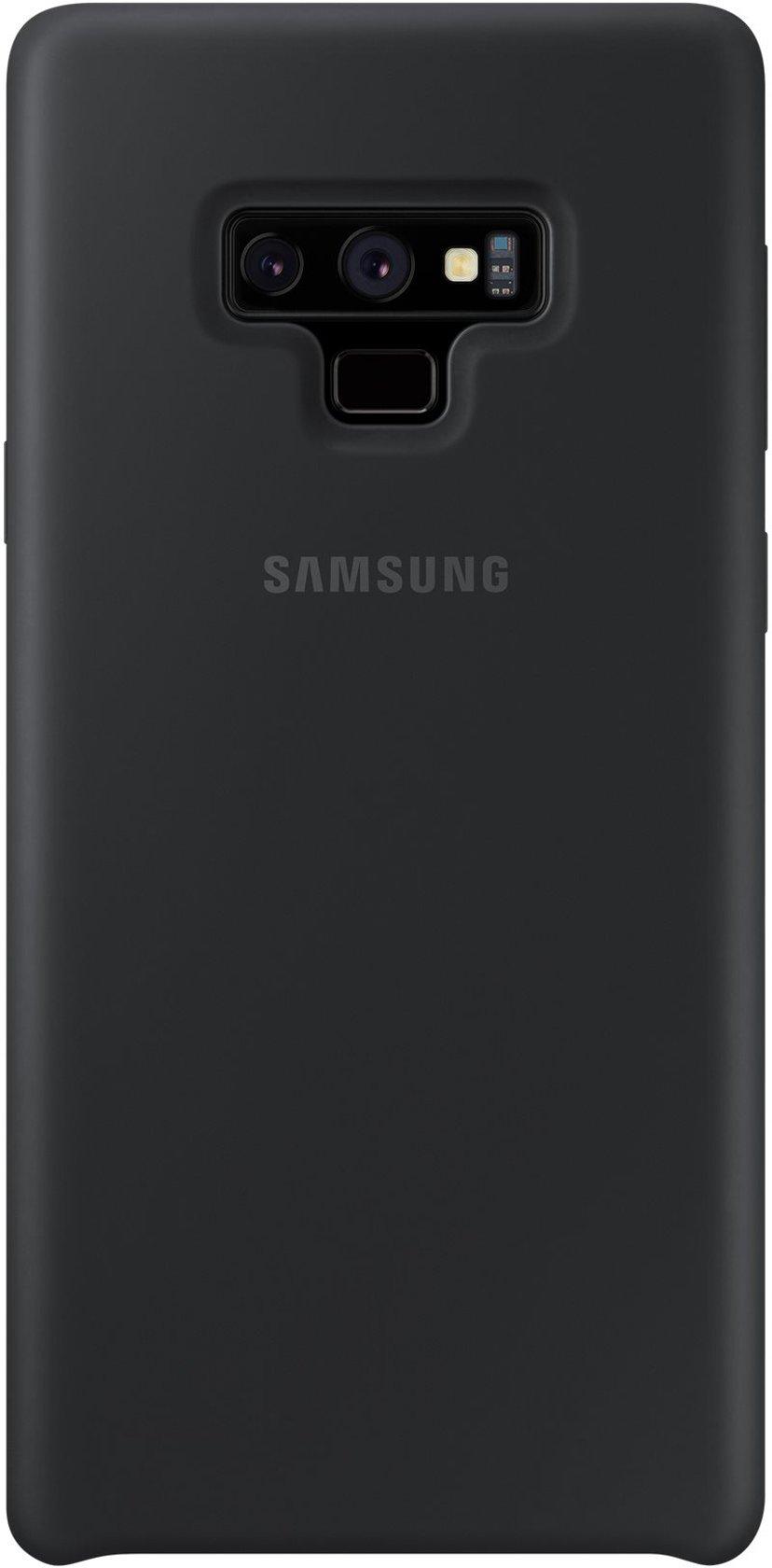 Samsung Soft Touch Silicone Cover EF-PN960 Zwart Samsung Galaxy Note 9