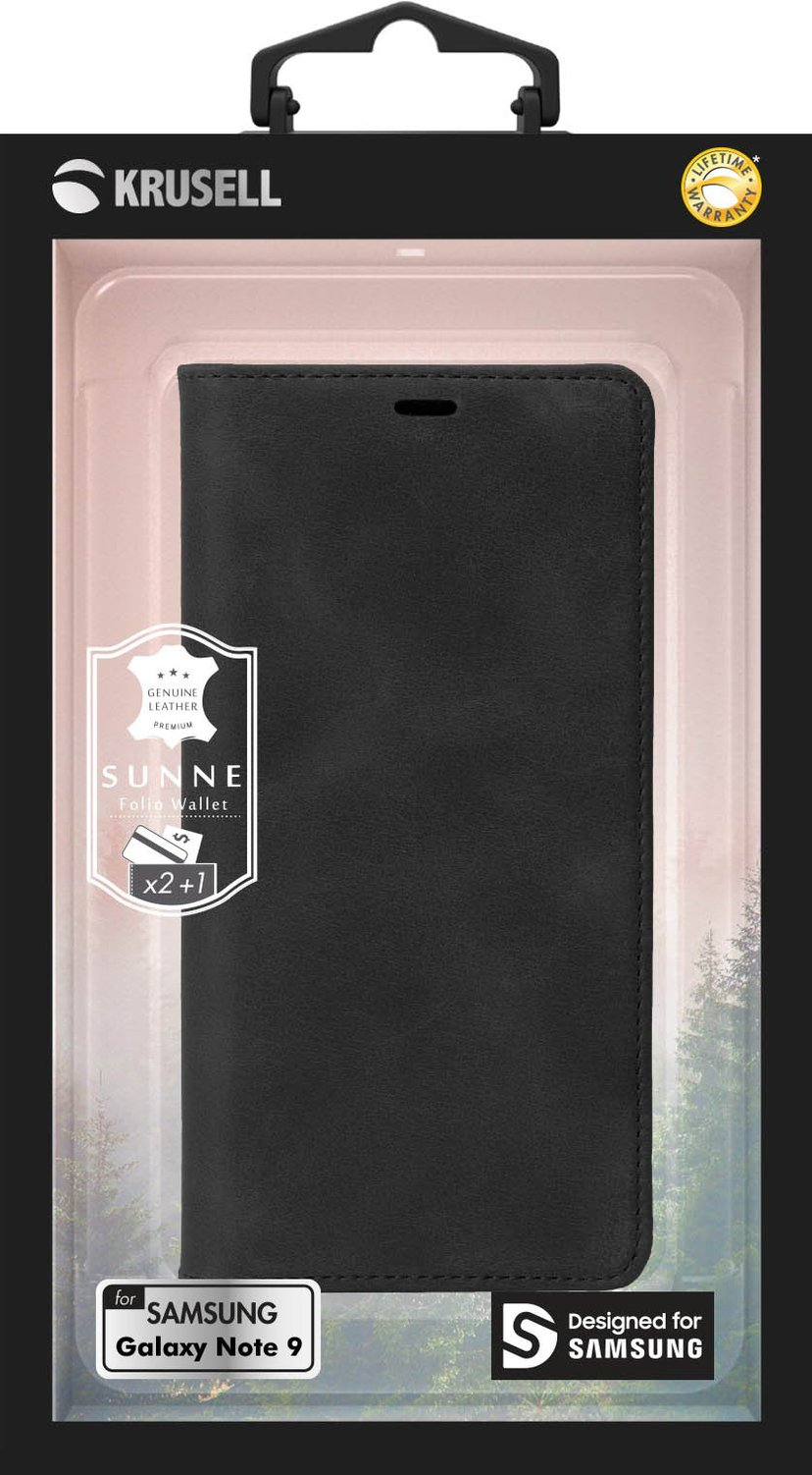 Krusell Sunne 2 Card FolioWallet Samsung Galaxy Note 9 Sort