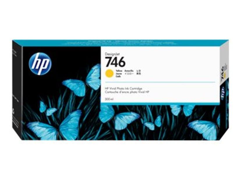 HP Blekk Gul 746 300ml - DesignJet Z6/Z9+