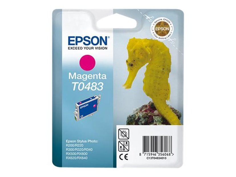 Epson Blekk Magenta,STYLUS Foto R300/RX300/500/600