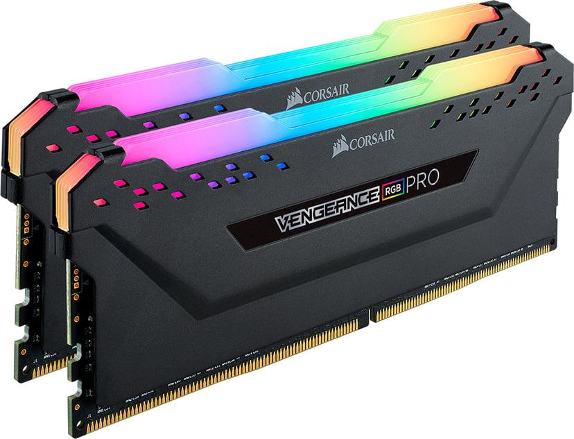 Corsair Vengeance RGB Pro 32GB 2X16GB DDR4 3000MHz CL15 Blac 32GB 3,000MHz DDR4 SDRAM DIMM 288-pin