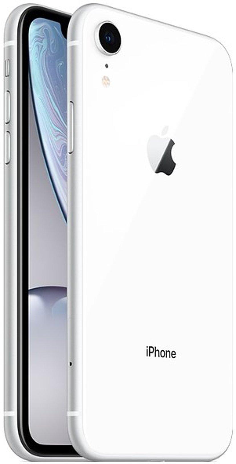 Apple iPhone XR 128GB Dual-SIM Hvid