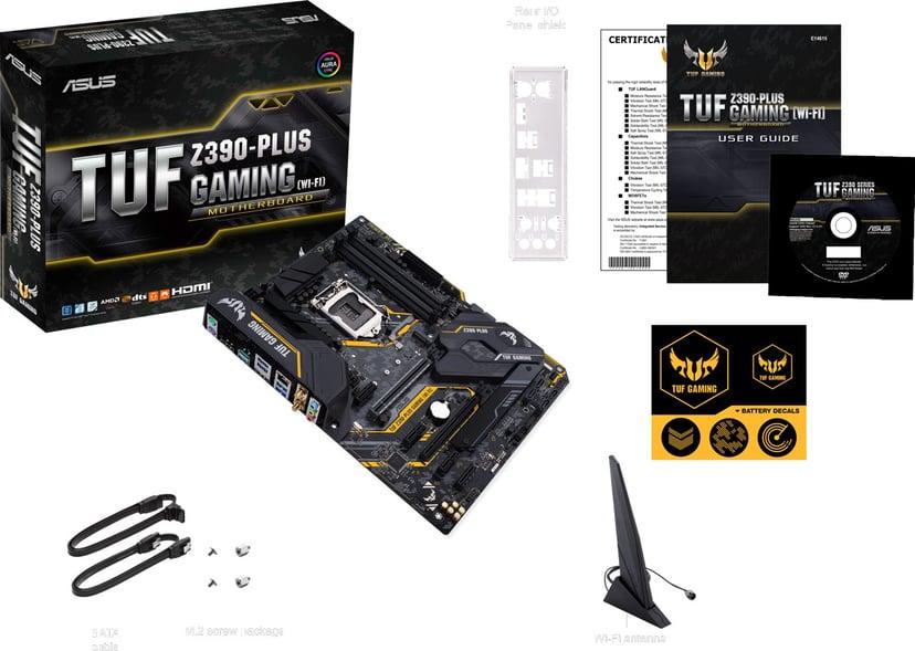 ASUS TUF Z390-Plus Gaming (Wi-FI) ATX Emolevy