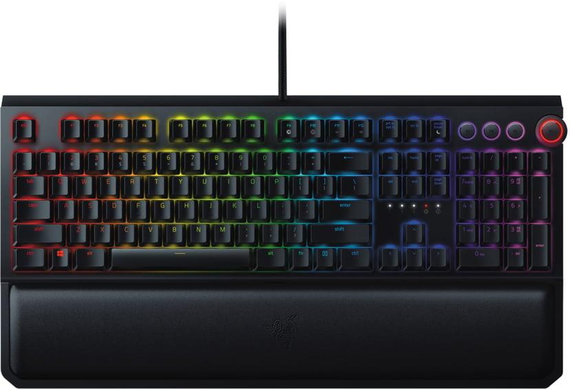 Razer BlackWidow Elite Kabling Tastatur Nordisk Sort