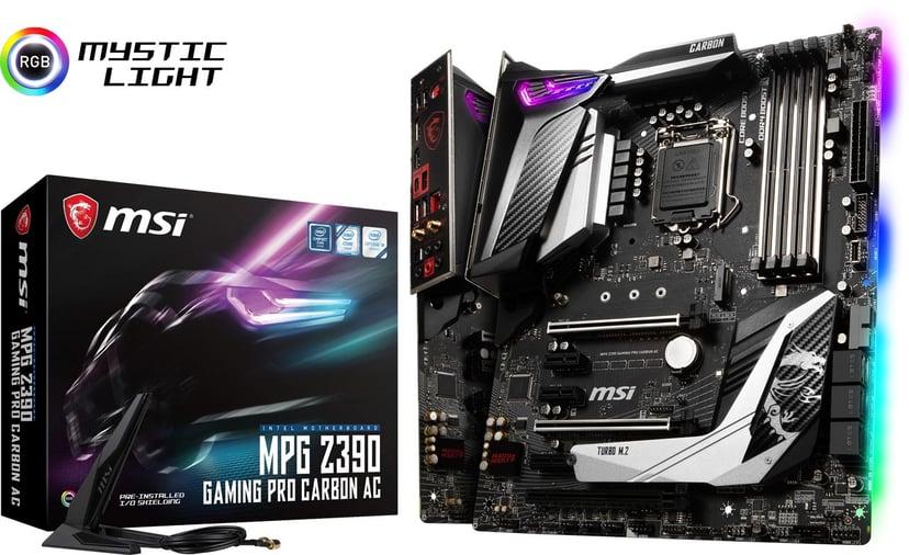 MSI Z390 Gaming Pro Carbon AC ATX Moderkort
