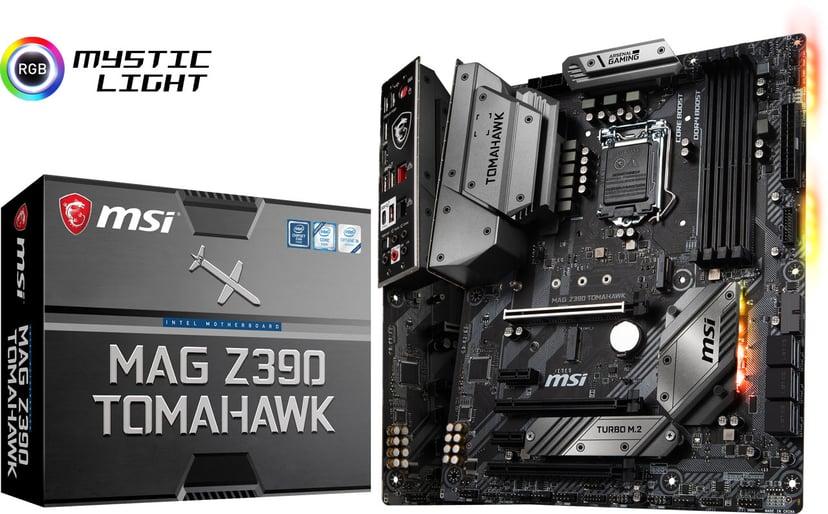 MSI Z390 MAG Tomahawk ATX Moderkort