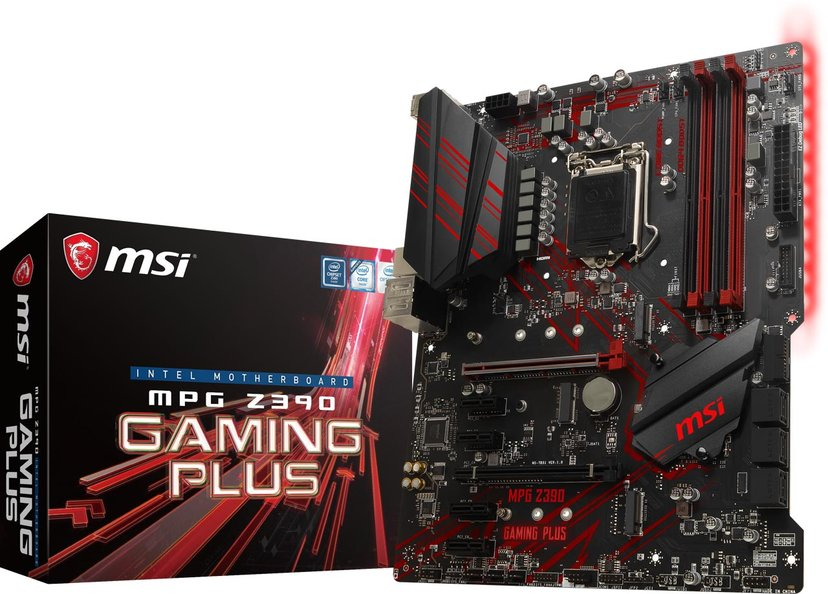 MSI Z390 MPG Gaming Plus ATX Moderkort